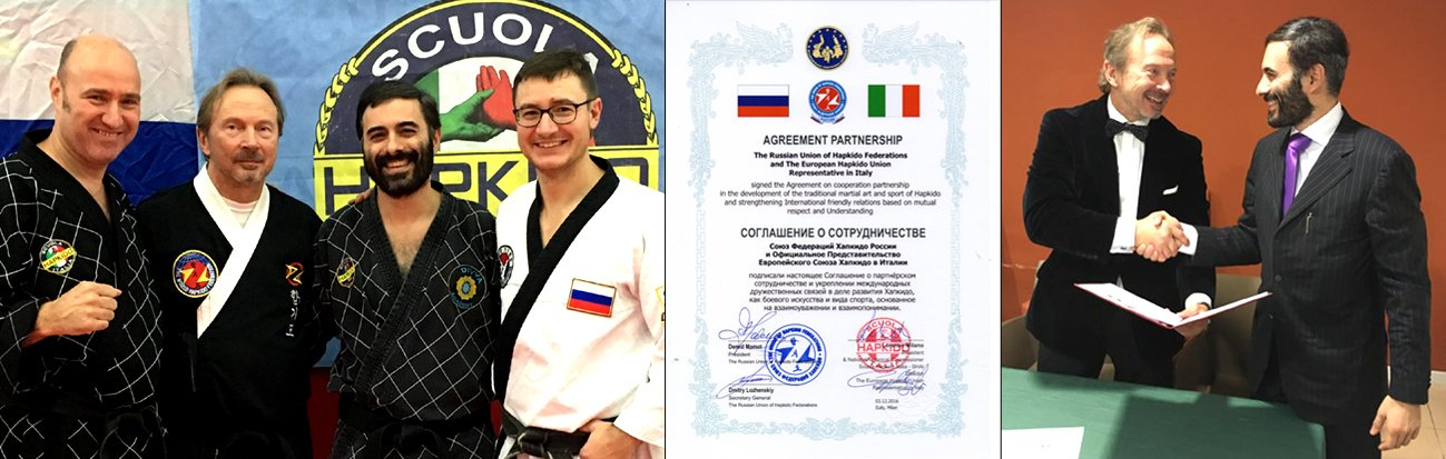 SHAI & Russian Union of Hapkido Federations