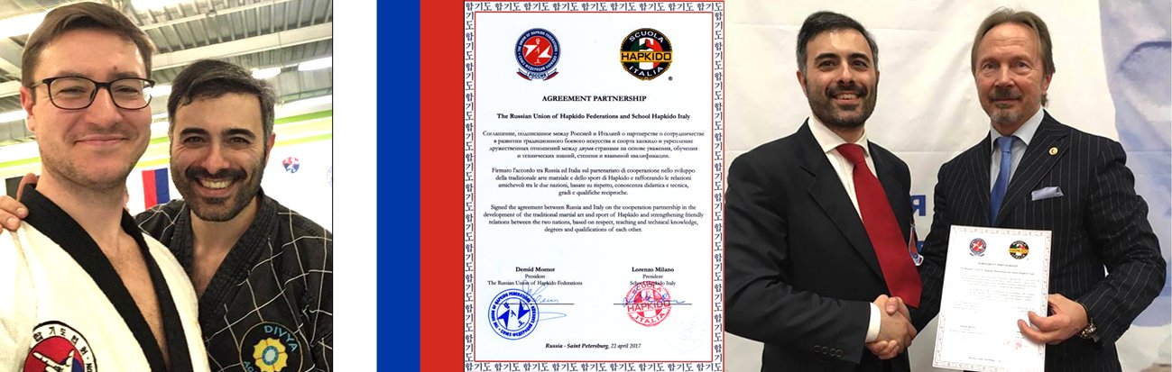Partnership with Russian Union of Hapkido Federations