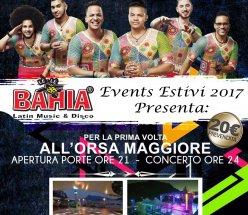Acquisto ONLINE Prevendita Concerto Grupo Extra di Domenica 2 Luglio 2017 @ la serata Estiva Organizzata dal Le Le Bahia alla discoteca sul Lago Orsa Maggiore Lecco. € 20 a Ticket