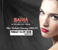 Venerdì 14.09 New Winter Opening 2018/19 Le Le Bahia - Lissone