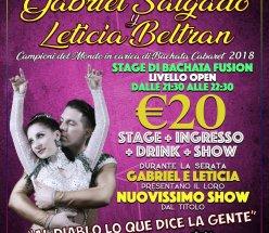 Gabriel Salgado y Leticia Beltran Stage & Show