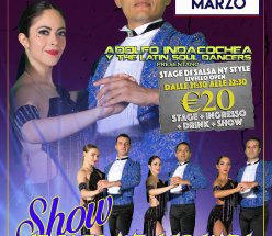 Adolfo Indacochea y The Latin Soul Dancers in Stage & Show