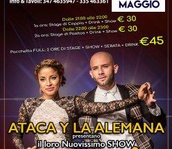 Ataca y La Alemana Exclusive Stage+New Show