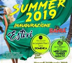 A Partire dal 24 Maggio Estivi 2019 by Le Le Bahia