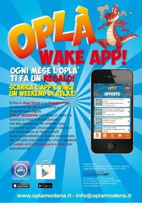 Wake app: il concorso dell'opla'!