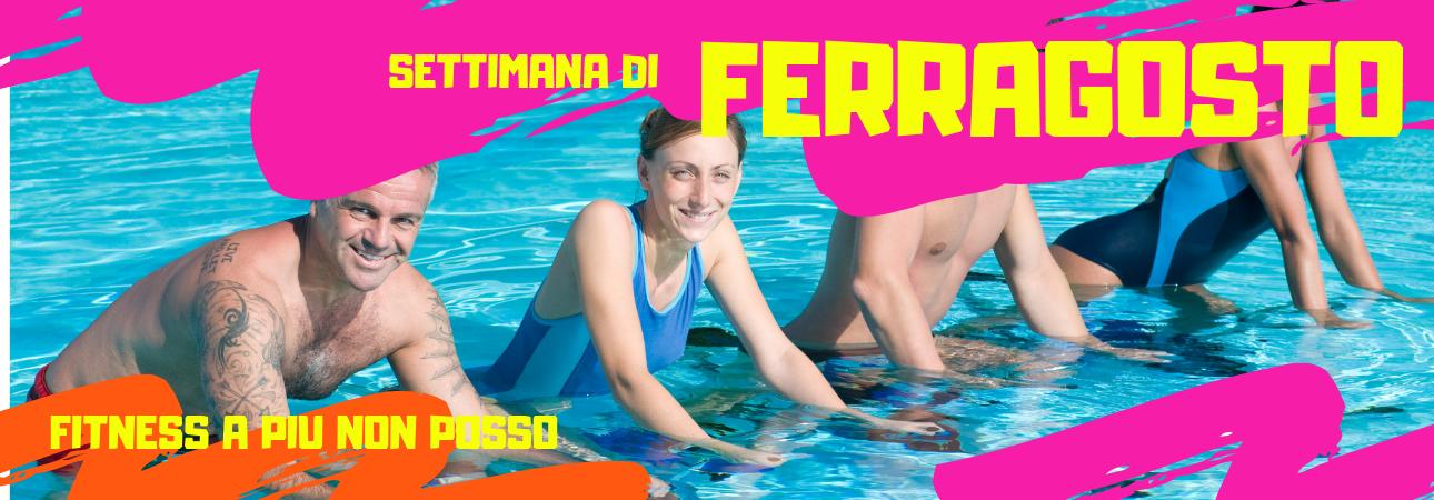 ORARI FITNESS SETTIMANA DI FERRAGOSTO