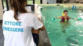 Attività fisica adattata in acqua