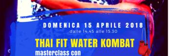 Domenica 15 aprile Masterclass THAIFIT con Silvia Senati