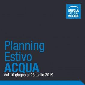 Planning Estivo Acqua