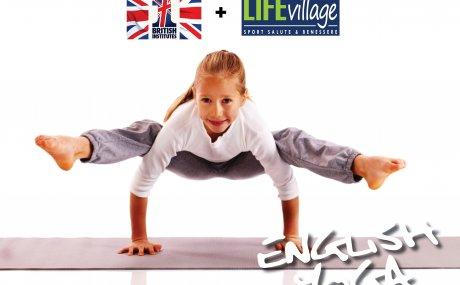 Novità corsi Kids: ENGLISH YOGA