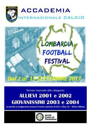 IX LOMBARDIA FOOTBALL FESTIVAL AL VIA