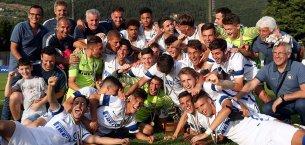 Berretti Inter, scudetto firmato anche Accademia