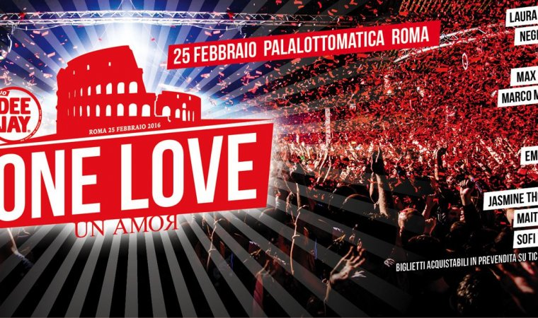 Radio Deejay powered byDreamLux®  Compleanno di Radio Deejay - Roma