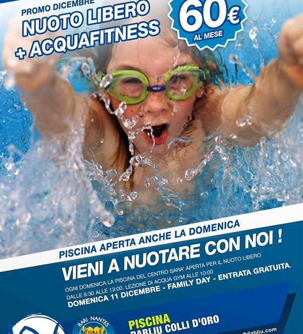 LE DOMENICHE DI PISCINA + FAMILY DAY