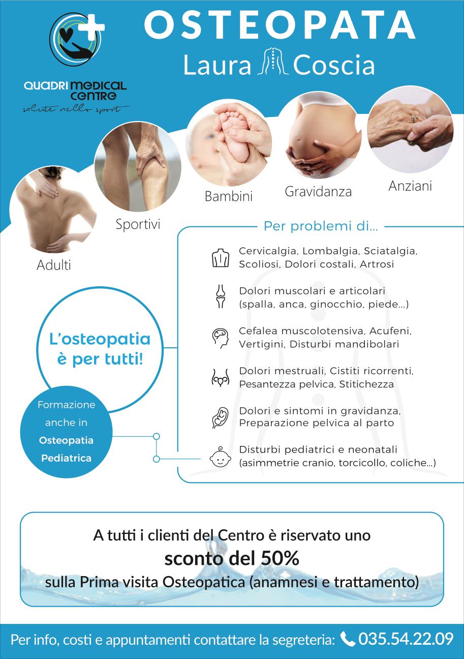 Quadri Medical Centre : OSTEOPATA