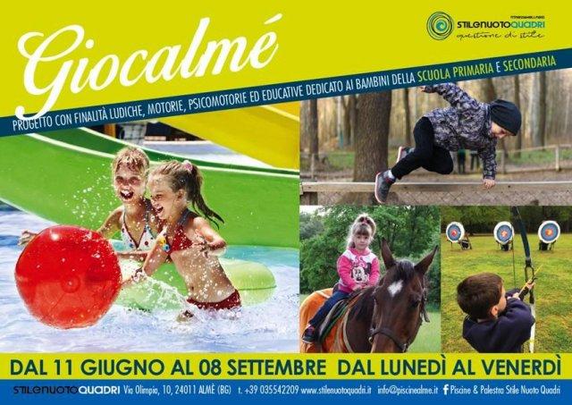 Giocalmè Cre Almè Bergamo Piscina Elementari Medie Sport