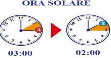 Torna l'ora solare: spostare le lancette dalle 3 alle 2