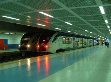 Ritorna il treno per l'aeroporto Falcone e Borsellino