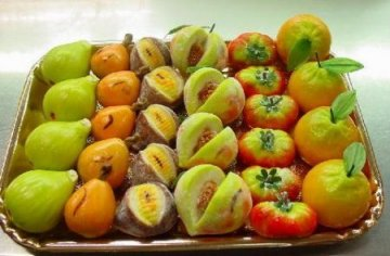 Frutta di martorana siciliana
