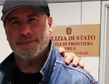 John Travolta è arrivato in Sicilia. Col suo aereo privato