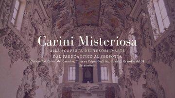 Tour Carini misteriosa, 25 novembre 2018
