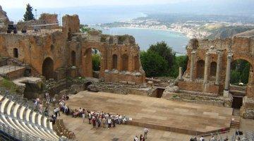 Nuova area parcheggio per visitatori teatri Antico