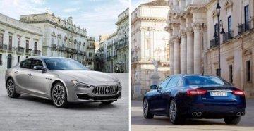 Maserati sceglie piazza Duomo a Ortigia per Ghibli e Levante