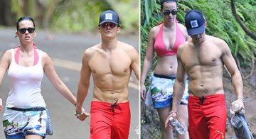 Orlando Bloom e Katy Perry sorpresi a Panarea