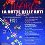 In giro per Naro, La notte delle arti 2019: il programma
