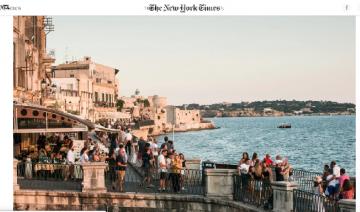 Il NYTimes: che spettacolo Siracusa!