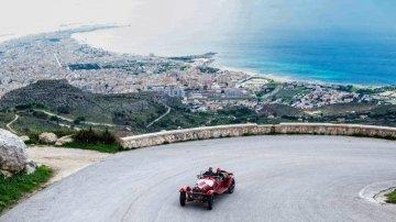 Targa Florio, la storia dell'automobilismo passa da Palermo: e la Ferrari fa un tributo
