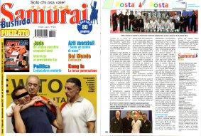 Articolo rivista SAMURAI - gennaio 2017 pag. 80