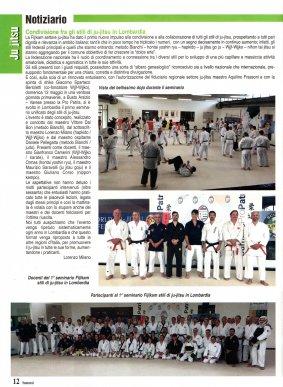Articolo rivista SAMURAI - Luglio 2019 pag.12