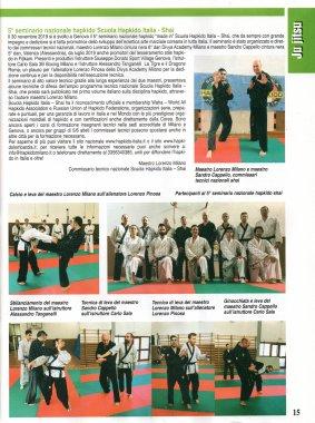Articolo rivista SAMURAI - Febbraio 2020