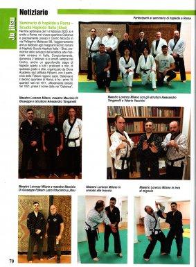 Articolo rivista SAMURAI - Aprile 2020