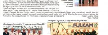 Fijlkam  – 1°Stage Nazionale 2019, Riccione – Presentazione HAPKIDO