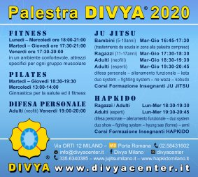 Palestra DIVYA CENTER