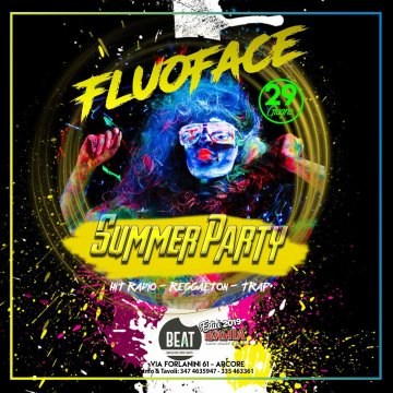 Sabato 29 Giugno 2019 - Fluo Party