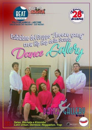 Venerdì 28 Giugno - Esibizione del Gruppo Jheeze Gang crew Hip Hop della scuola Dance Gallery
