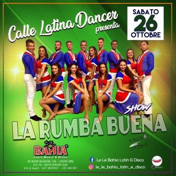 Show di ballo del gruppo Calle latina dancer