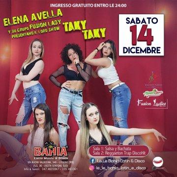Show di Bachata fusion del gruppo Fusion Lady di Elena Avella