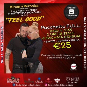 Da non perdere.. Airam y Veronica (Campioni del Mondo 2018 di Bachata Fusion) in Stage e Show