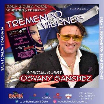 Special Guest Osvany Sanchez e estrazioni di 2 full pass per Bergamo in Salsa