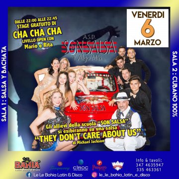 In preserata - stage gratuito di Cha Cha Cha con Mario e Rita by Son Salsa