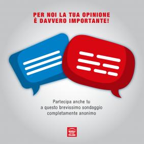 La tua opinione per noi è importante!