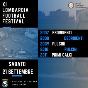 XI LOMBARDIA FOOTBALL FESTIVAL
