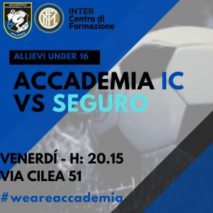 Accademia Live, venerdì in diretta Facebook Accademia-Seguro!
