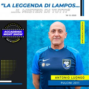 Accademia Night Show: l'ospite è Antonio Luongo