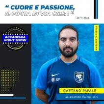 Accademia Night Show: l'ospite è Gaetano Papale