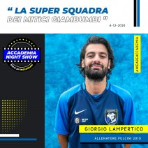 Accademia Night Show: l'ospite è Giorgio Lampertico